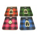 Kilt Coasters - Pack of 4